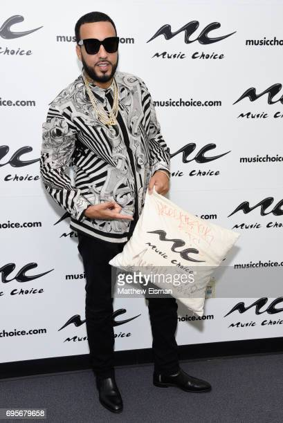 Rapper French Montana visits Music Choice on June 13 2017 in New York City