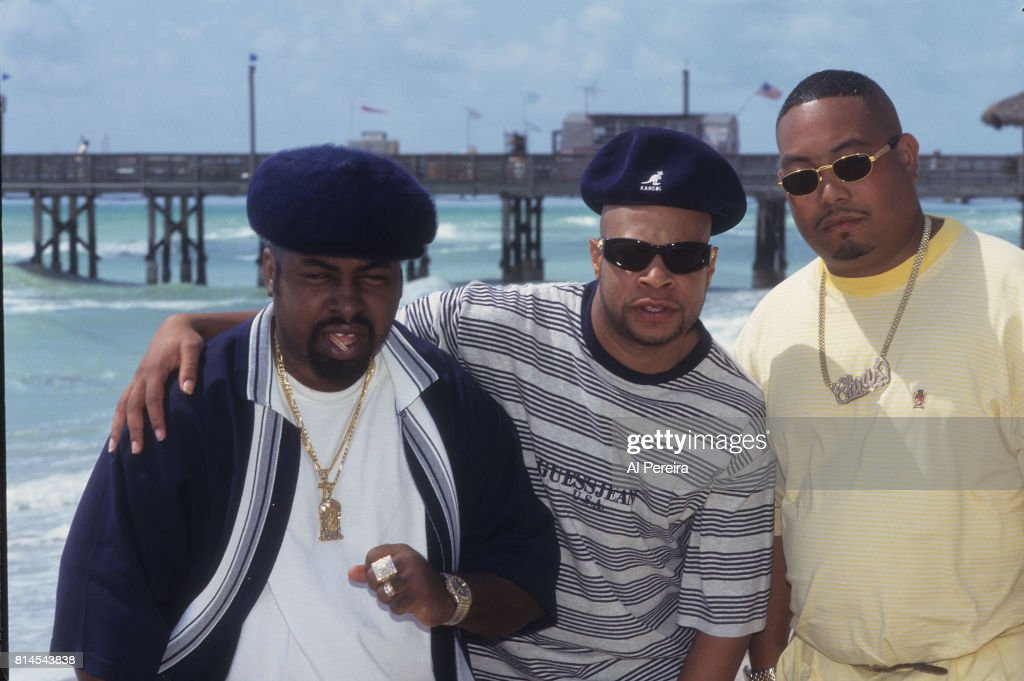 Rapper Fresh Kid Ice (aka Christopher Wong Won) and The 2 Live Crew are shown filming the 'Shake A Lil' Somethin'' video in June of 1996 in the South Beach neighborhood of Miami Beach, Florida. Wong Won died on July 13, 2017 in Miami.