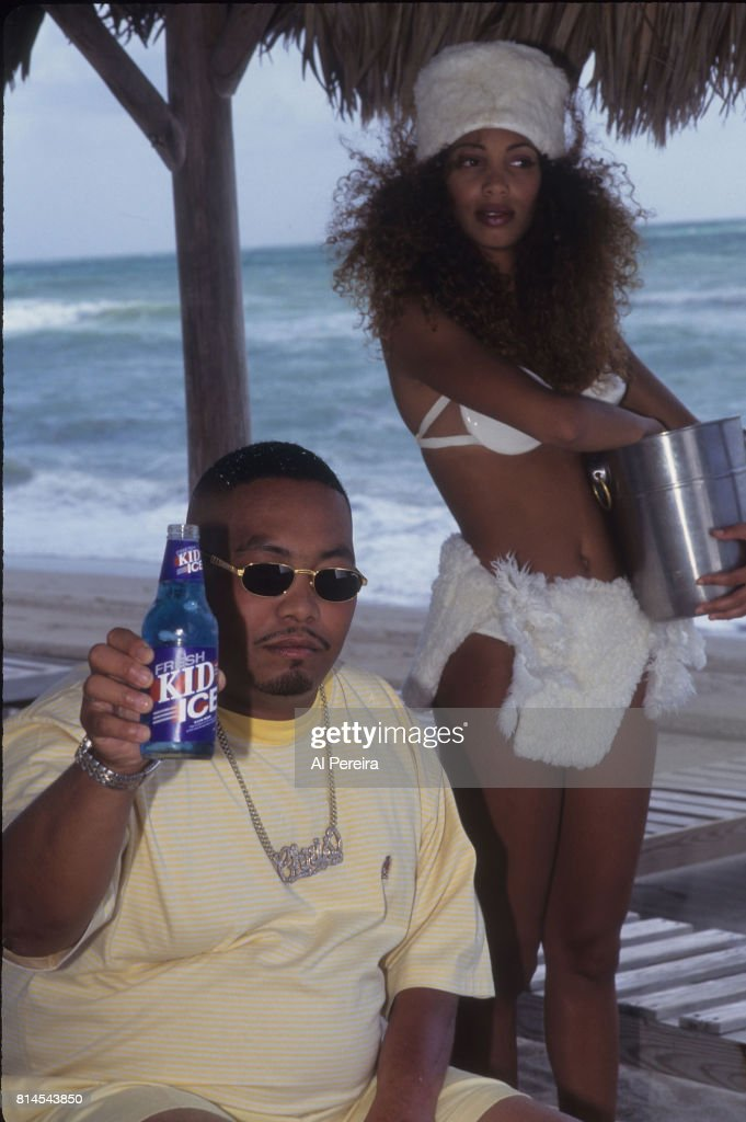 Rapper Fresh Kid Ice (aka Christopher Wong Won) of The 2 Live Crew is shown filming the 'Shake A Lil' Somethin'' video in June of 1996 in the South Beach neighborhood of Miami Beach, Florida. Wong Won died on July 13, 2017 in Miami.