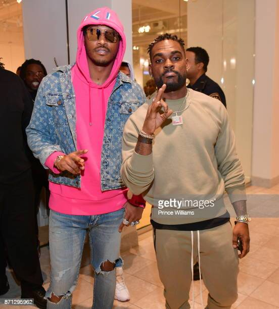 Rapper Future and DJ Stevie J attend Future Reebok 'Pluto' Shoe Release at Jeffrey on November 6 2017 in Atlanta Georgia