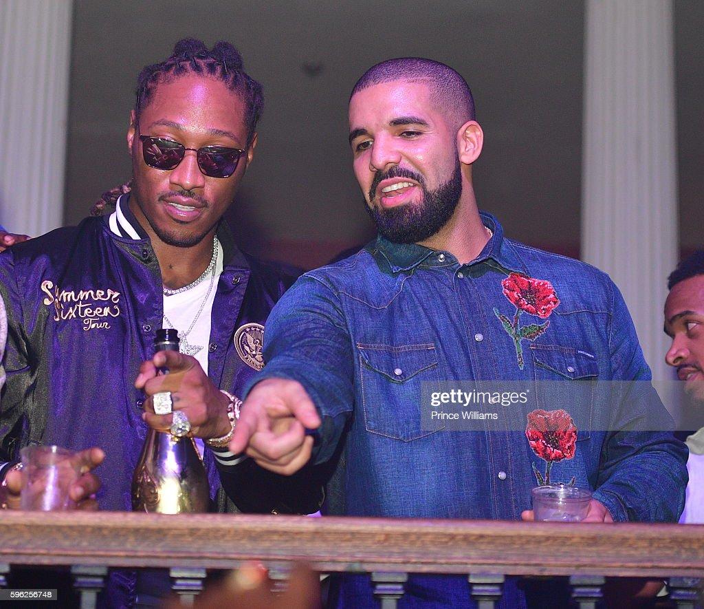 Drake & Future Summer Sixteen Concert After-Party : News Photo