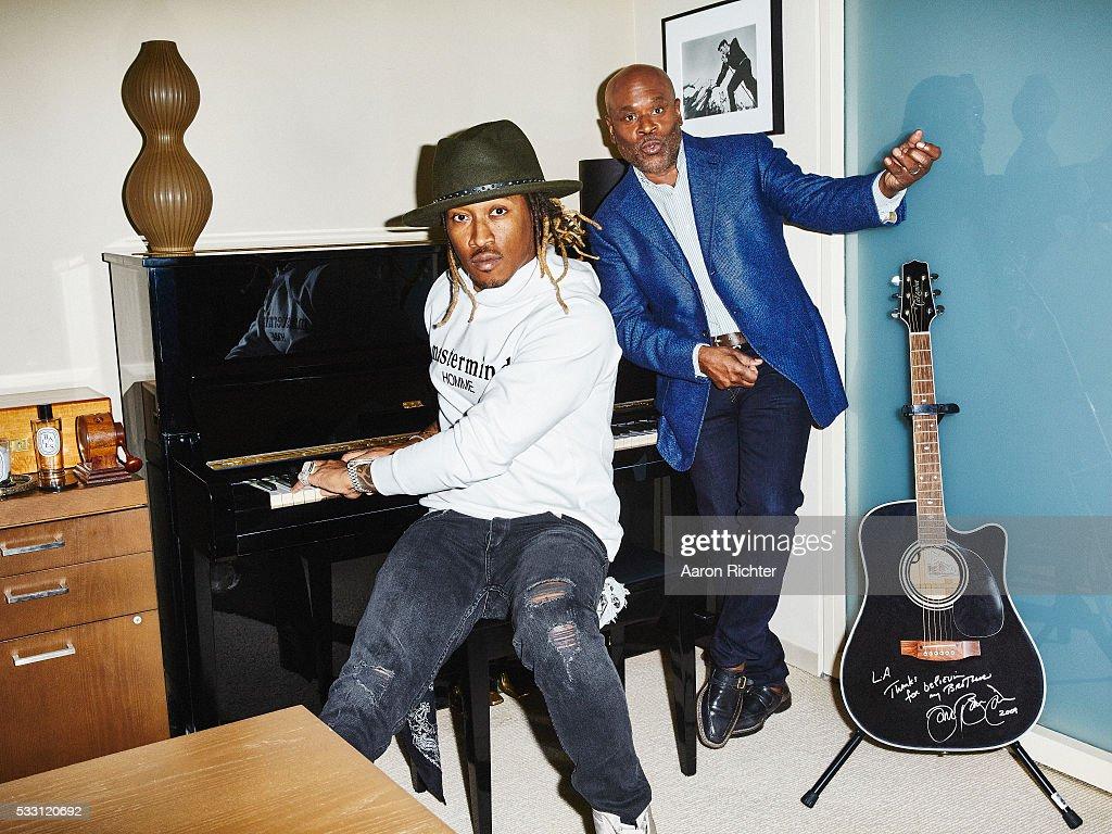 Future and L.A. Reid, Billboard, December 19, 2015 : News Photo