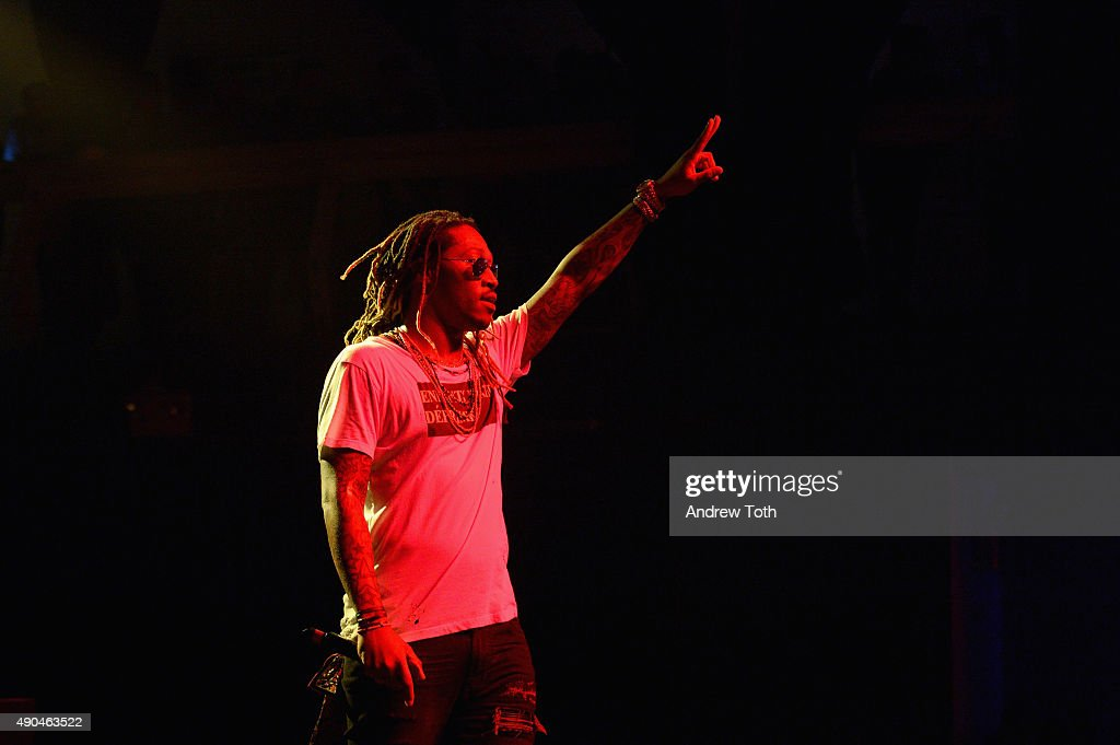 Rapper Future appears onstage during the AWXII kick-off concert on September 28, 2015 in New York City.
