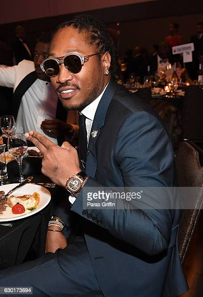 Rapper Future attends 33rd Annual UNCF Mayor's Masked Ball at Atlanta Marriott Marquis on December 17 2016 in Atlanta Georgia