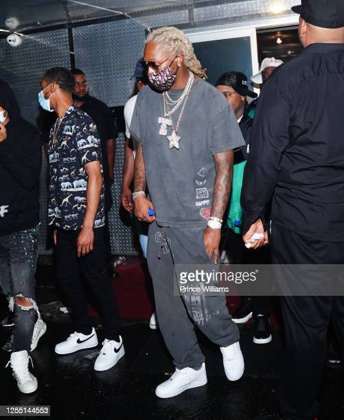Rapper Future attends Allure Monday Nights at Allure Gentlemen's Club on July 6, 2020 in Atlanta, Georgia.
