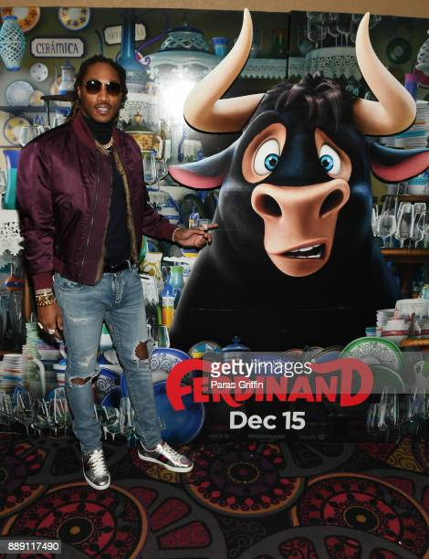 Rapper Future attends 'Ferdinand' special screening hosted by Future FreeWishes Foundation at Regal Atlantic Station on December 9 2017 in Atlanta...