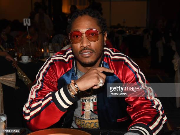 Rapper Future attends FreeWishes Foundation Senior Ball at Marriott Gateway Hotel on November 18 2017 in Atlanta Georgia