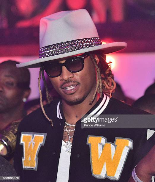 Rapper Future attends Future Album Release Party at Gold Room on July 30 2015 in Atlanta Georgia