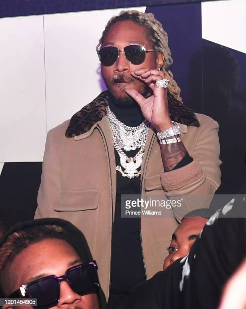 Rapper Future attends Future & Lil Baby Concert After Party at Gold Room on January 19, 2020 in Atlanta, Georgia.