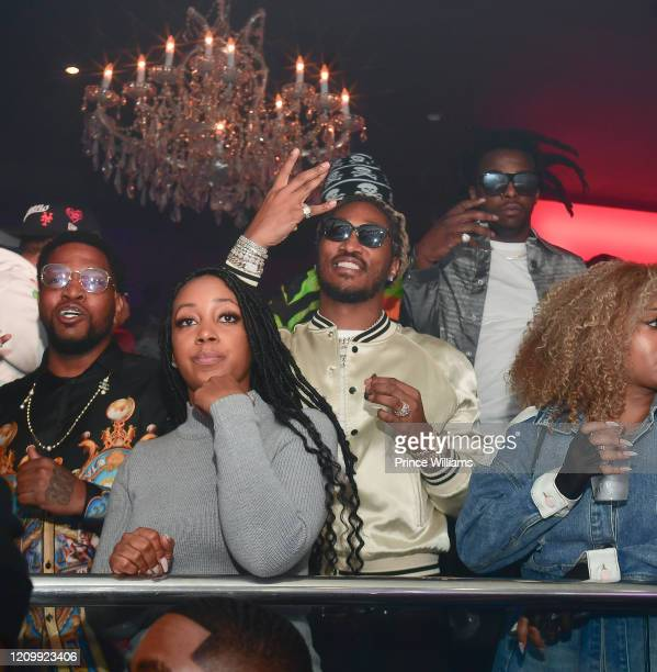 "Rapper Future attends Lil Baby Album Release Party for ""My Turn"" at Compound on February 29, 2020 in Atlanta, Georgia."