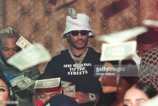 Rapper Future attends The Allure Two Year Anniversary at Allure Gentlemen's Club on September 7, 2020 in Atlanta, Georgia.