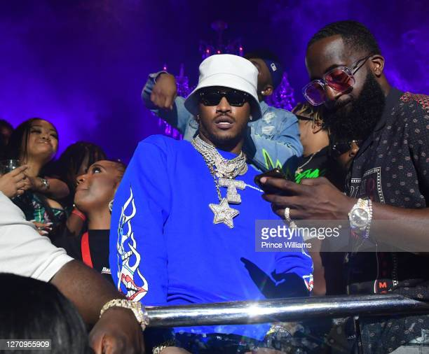 Rapper Future attends The Biggest Labor Day Takeover at Compound on September 5, 2020 in Atlanta, Georgia.