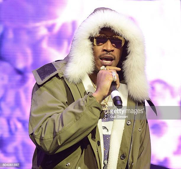 Rapper Future attends the O2 Academy Brixton on January 8 2016 in London England