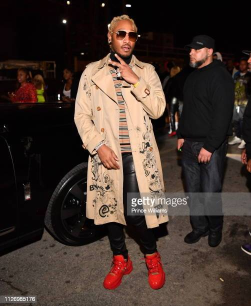 Rapper Future attends The Official Big Game Take over Hosted by Diddy+Jeezy+Future at Compound on February 2, 2019 in Atlanta, Georgia.