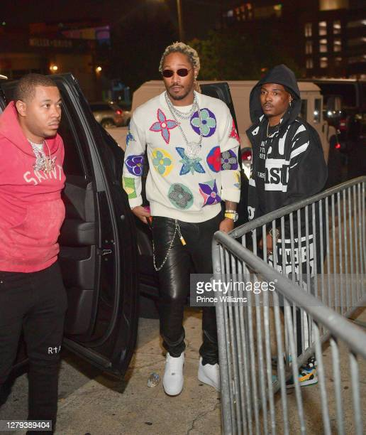 "Rapper Future attends the Travis Scott ""Franchise"" celebration event at Republic Lounge on October 8, 2020 in Atlanta, Georgia."
