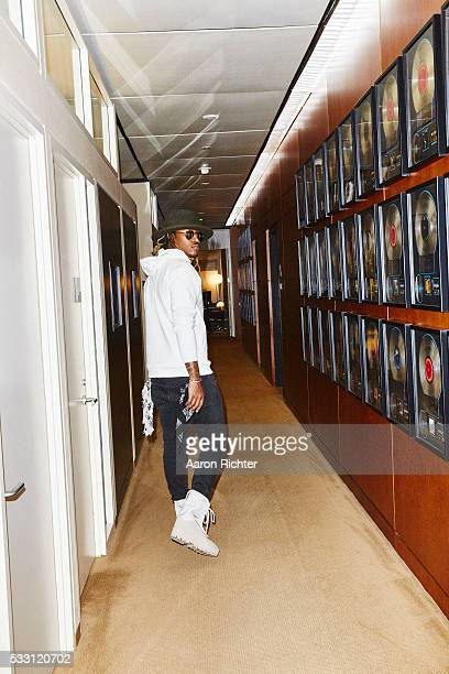 Rapper Future is photographed for Billboard Magazine on November 3 2015 at Sony Music Entertainment in New York City