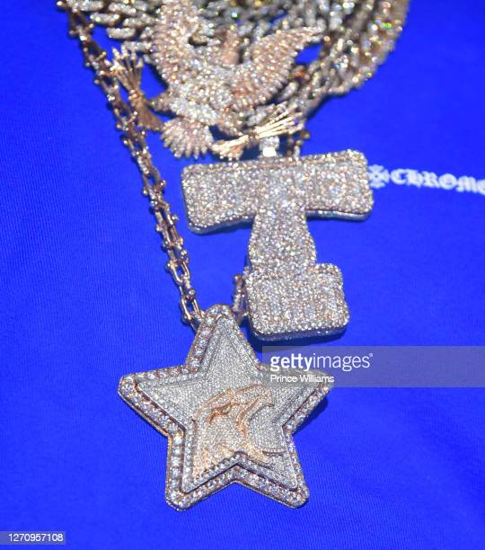 Rapper Future, Necklace detail attends The Biggest Labor Day Takeover at Compound on September 5, 2020 in Atlanta, Georgia.