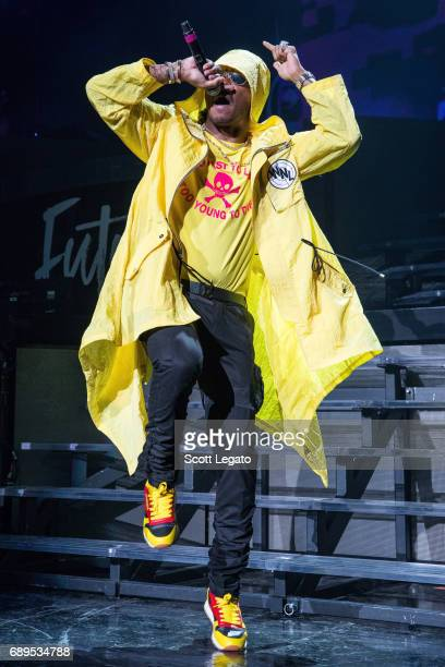 Rapper Future performs in support of his Nobody Safe Tour at DTE Energy Music Theater on May 28 2017 in Clarkston Michigan