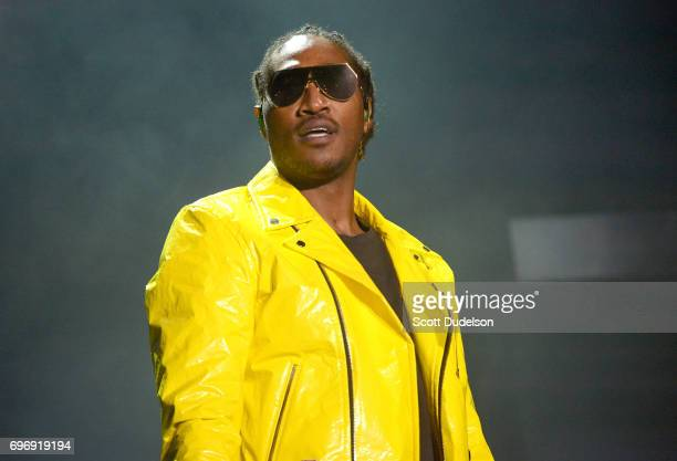 Rapper Future performs onstage during the Nobody Safe tour at The Forum on June 14 2017 in Inglewood California