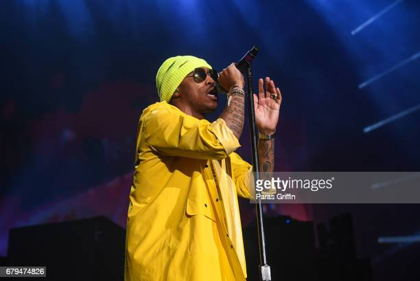 Rapper Future performs onstage in concert during 'Nobody Safe' Tour at Lakewood Amphitheatre on May 5 2017 in Atlanta Georgia