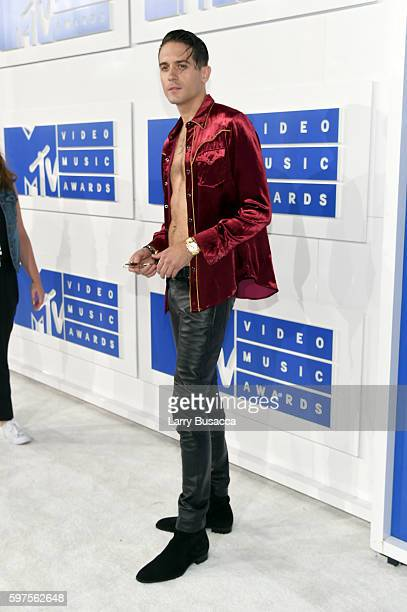 Rapper G Eazy attends the 2016 MTV Video Music Awards at Madison Square Garden on August 28 2016 in New York City
