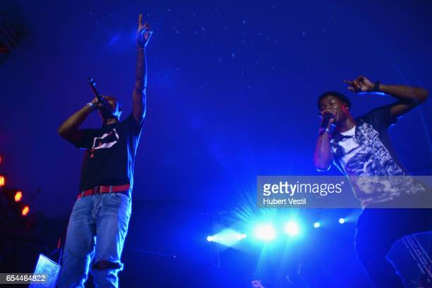 Rapper G Herbo performs onstage at the Mass Appeal music showcase during 2017 SXSW Conference and Festivals at Stubbs on March 16 2017 in Austin Texas