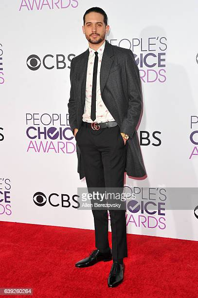 Rapper GEazy arrives at People's Choice Awards 2017 at Microsoft Theater on January 18 2017 in Los Angeles California