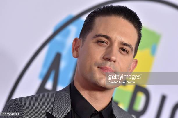 Rapper GEazy arrives at the 2017 American Music Awards at Microsoft Theater on November 19 2017 in Los Angeles California