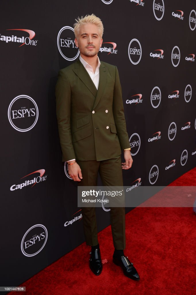 Rapper G-Eazy attends the 2018 ESPY Awards Red Carpet Show Live! Celebrates With Moet & Chandon at Microsoft Theater on July 18, 2018 in Los Angeles, California.