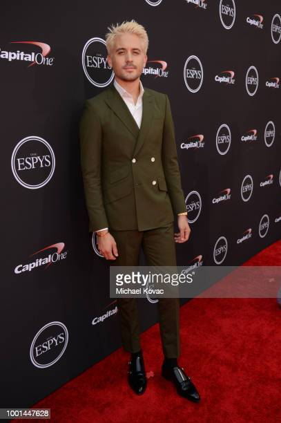 Rapper GEazy attends the 2018 ESPY Awards Red Carpet Show Live Celebrates With Moet Chandon at Microsoft Theater on July 18 2018 in Los Angeles...