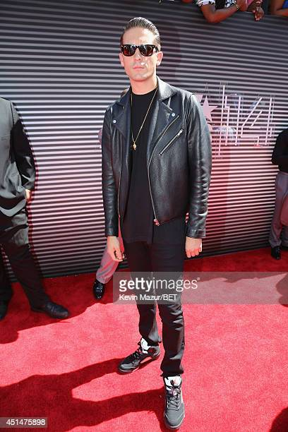Rapper GEazy attends the BET AWARDS '14 at Nokia Theatre LA LIVE on June 29 2014 in Los Angeles California