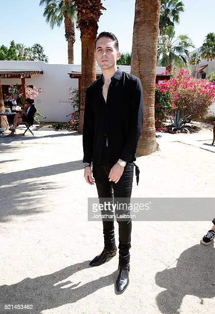 Rapper GEazy attends The Retreat Palm Springs 2016 on April 15 2016 in Palm Springs California