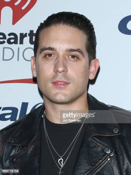Rapper GEazy attends the Z100's iHeartRadio Jingle Ball 2017 at Madison Square Garden on December 8 2017 in New York City