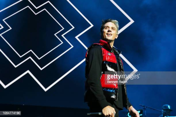 Rapper GEazy performs at Power 1051's Powerhouse 2018 at Prudential Center on October 28 2018 in Newark New Jersey