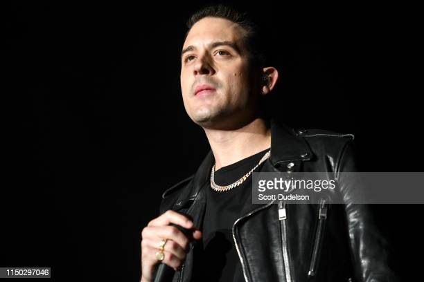 Rapper GEazy performs onstage during The Liftoff presented by Power 106 at FivePoint Amphitheatre on May 18 2019 in Irvine California