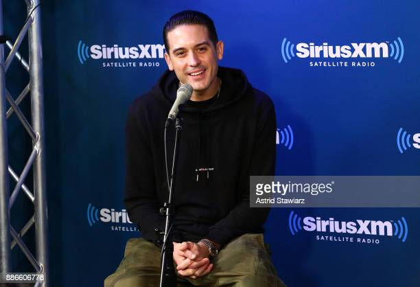 Rapper GEazy premieres his new album 'The Beautiful Damned' on SiriusXM's Shade 45 channel on December 5 2017 in New York City