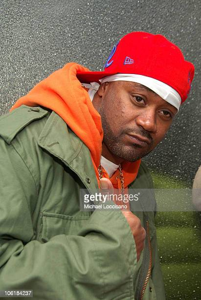 Rapper Ghostface Killah appears on MTV's 'Sucker Free' at MTV Studios in New York City's Times Square on November 28 2007 The air date for this show...