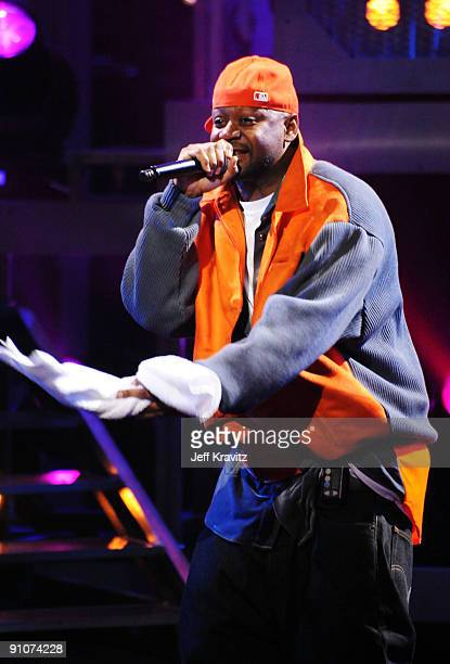 Rapper Ghostface Killah performs onstage at the 2009 VH1 Hip Hop Honors at the Brooklyn Academy of Music on September 23 2009 in the Brooklyn borough...