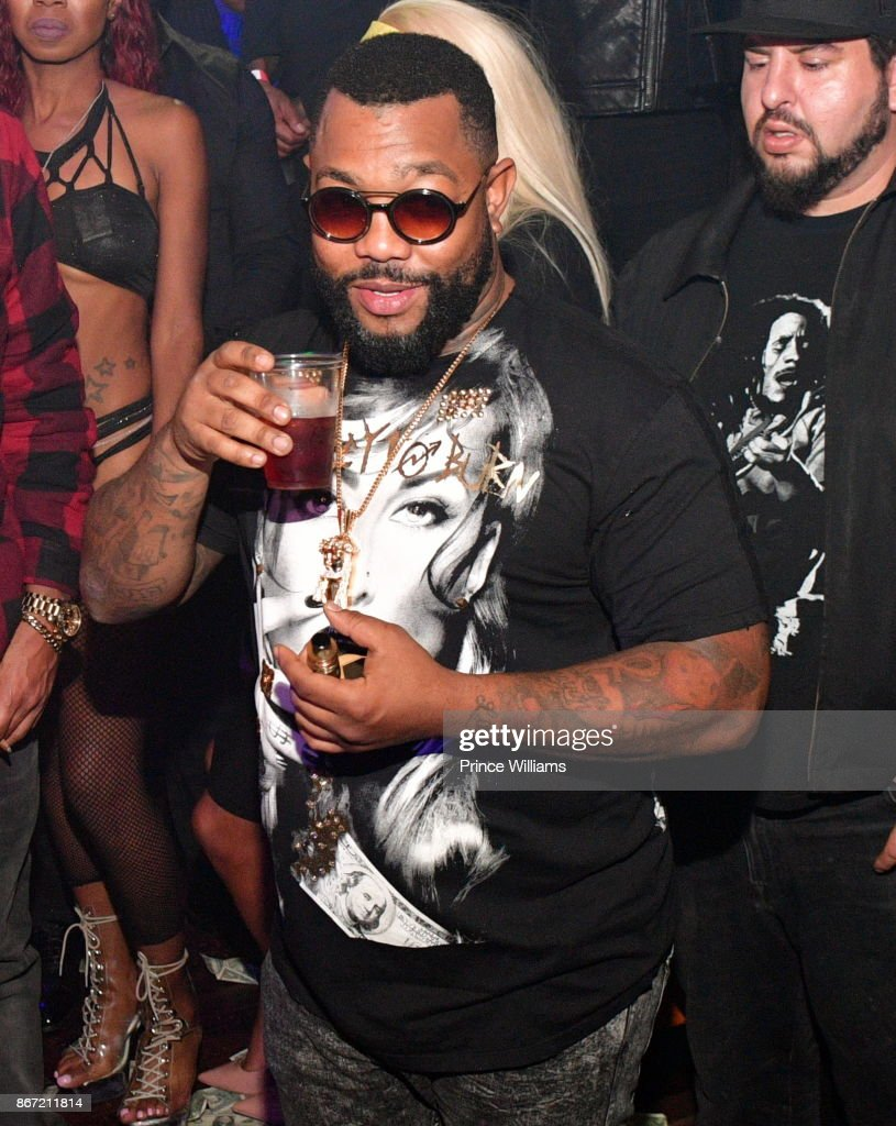 Rapper Gorilla Zoe attends a Party at Amora Lounge on October 26