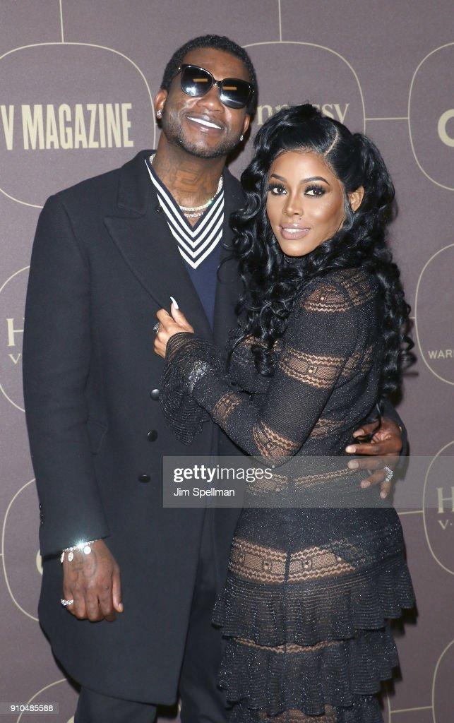 Rapper Gucci Mane and model Keyshia Ka'Oir attend the 2018