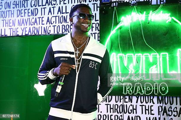 Rapper Gucci Mane performs at Public School And The Confidante Present WNL Radio at The Confidante on December 2 2016 in Miami Beach Florida