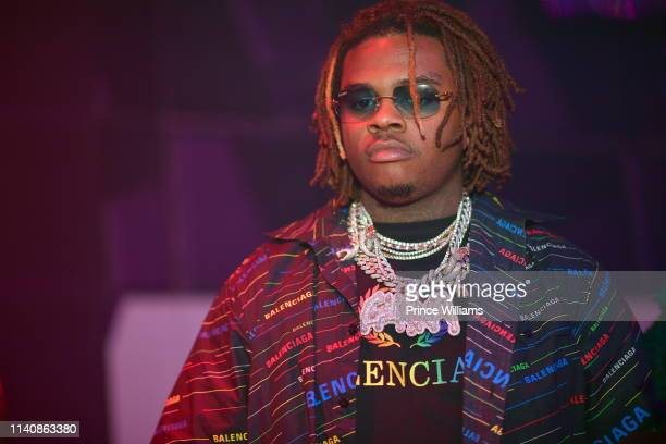 Rapper Gunna attends the 404 Celebration Hosted by 2Chainz Gunna Jermaine Dupri at Gold Room on April 5 2019 in Atlanta Georgia