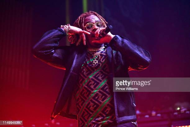 Rapper Gunna performs at Gunna in Concert Atlanta at The Tabernacle on May 16 2019 in Atlanta Georgia