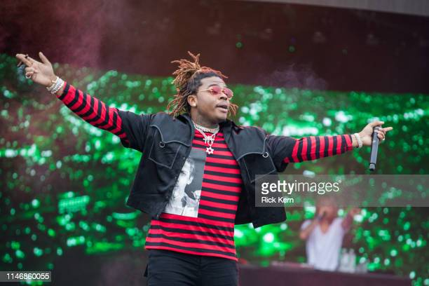 Rapper Gunna performs onstage during JMBLYA at Fair Park on May 03 2019 in Dallas Texas