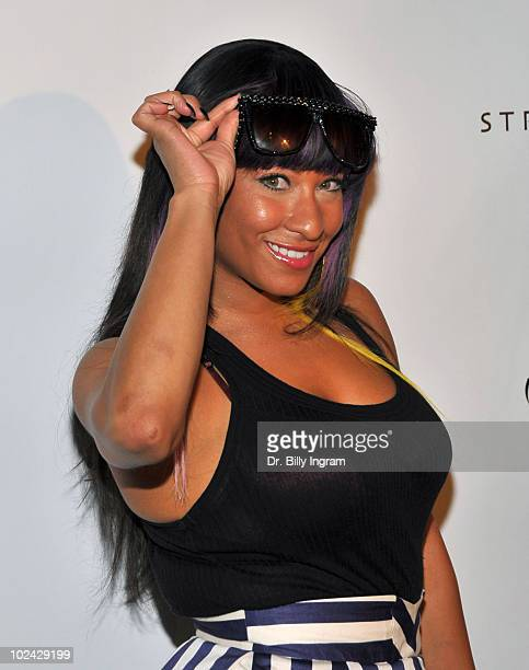 Rapper HazelE arrives at the release party for Music Inspired By The Film More Than A Game at The Roosevelt Hotel on September 24 2009 in Hollywood...