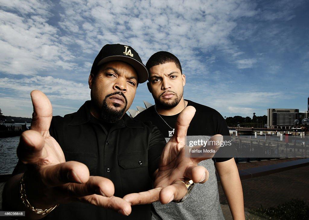 Ice Cube & O'Shea Jackson, Jr. Portrait Shoot