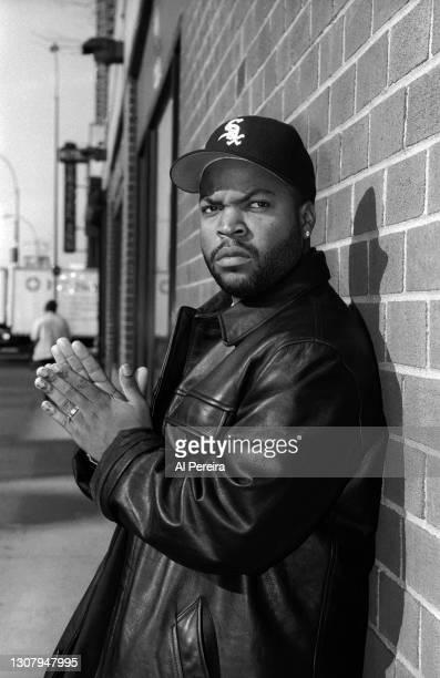 Rapper Ice Cube appears in a portrait taken on November 11, 1994 in New York City.