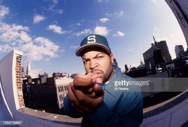 Rapper Ice Cube appears in a portrait taken on November 11, 1998 in New York City.