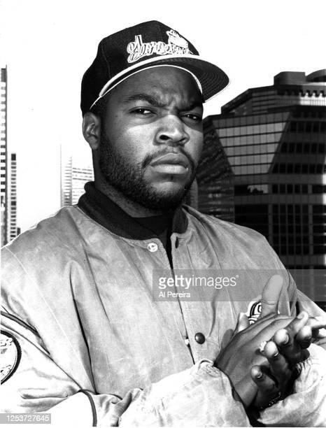 Rapper Ice Cube appears in a portrait taken on October 11, 1991 in New York City.
