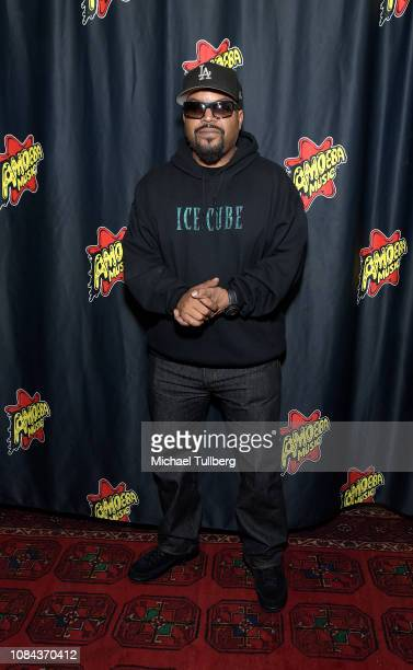 Rapper Ice Cube attends a meet-and-greet in promotion of his new CD ``Everythangs Corrupt'' at Amoeba Music on December 18, 2018 in Hollywood,...